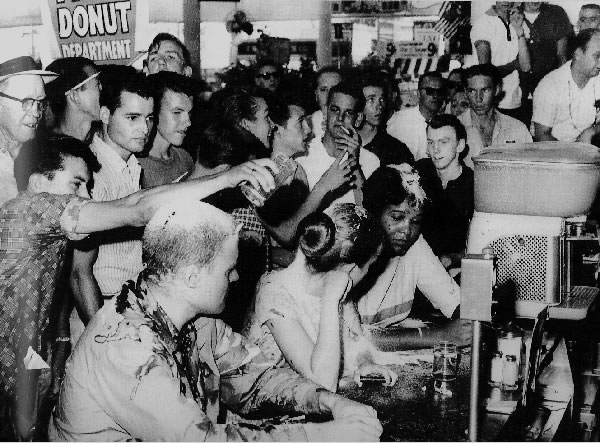 segregation at a lunch counter