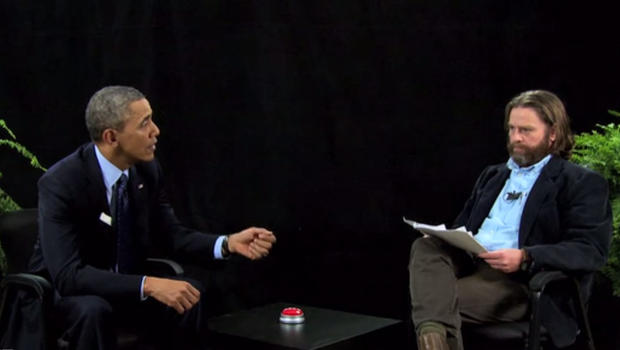 Obama on Zach Galifianakis Between Two Ferns