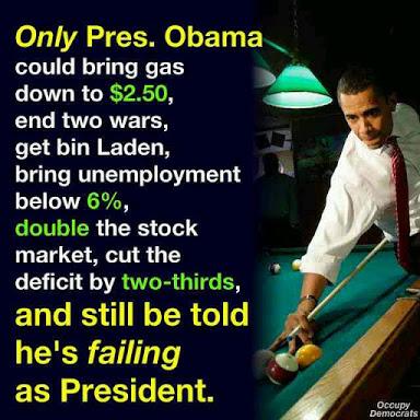 Obama Success Social Sharing Image